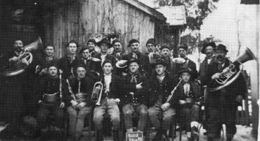 Der Poettinger Musikverien im Jahre 1933
