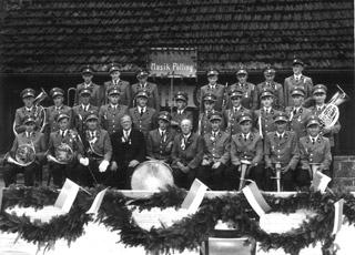 Der Musikverein im Jahre 1955