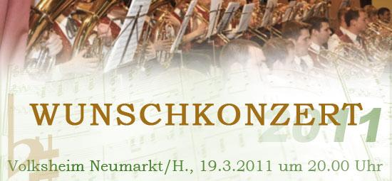 Wunschkonzert 2011 – Ankündigung
