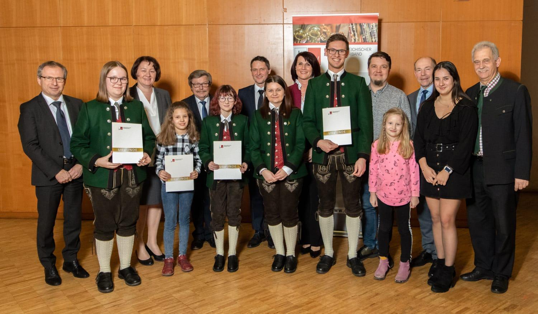 Verleihung der Jungmusiker-Leistungsabzeichen