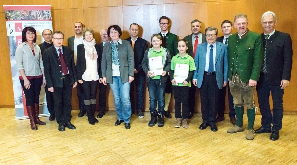 Verleihung der Leistungsabzeichen für Jungmusiker